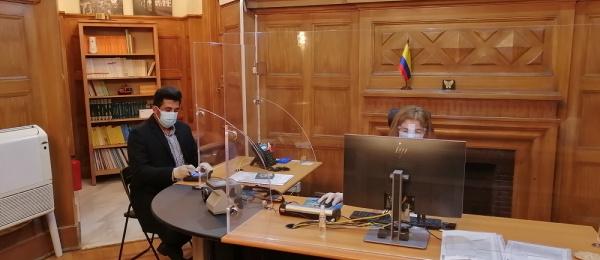Durante el fin de semana el Consulado de Colombia en El Cairo realizó la jornada extendida de servicios y trámites